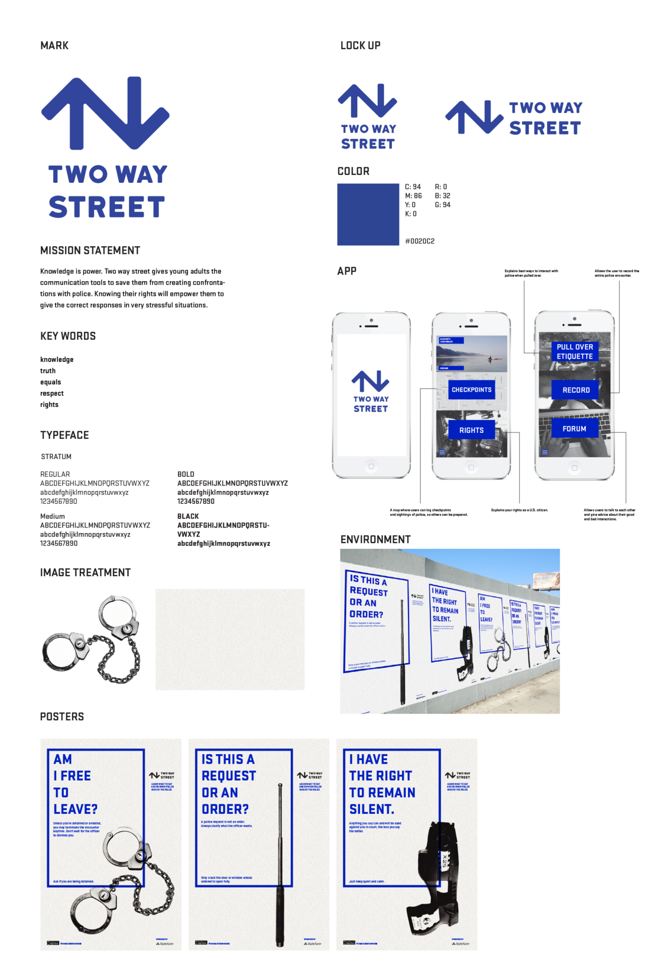 TWO WAY STREET — CAMPAIGN 2015
